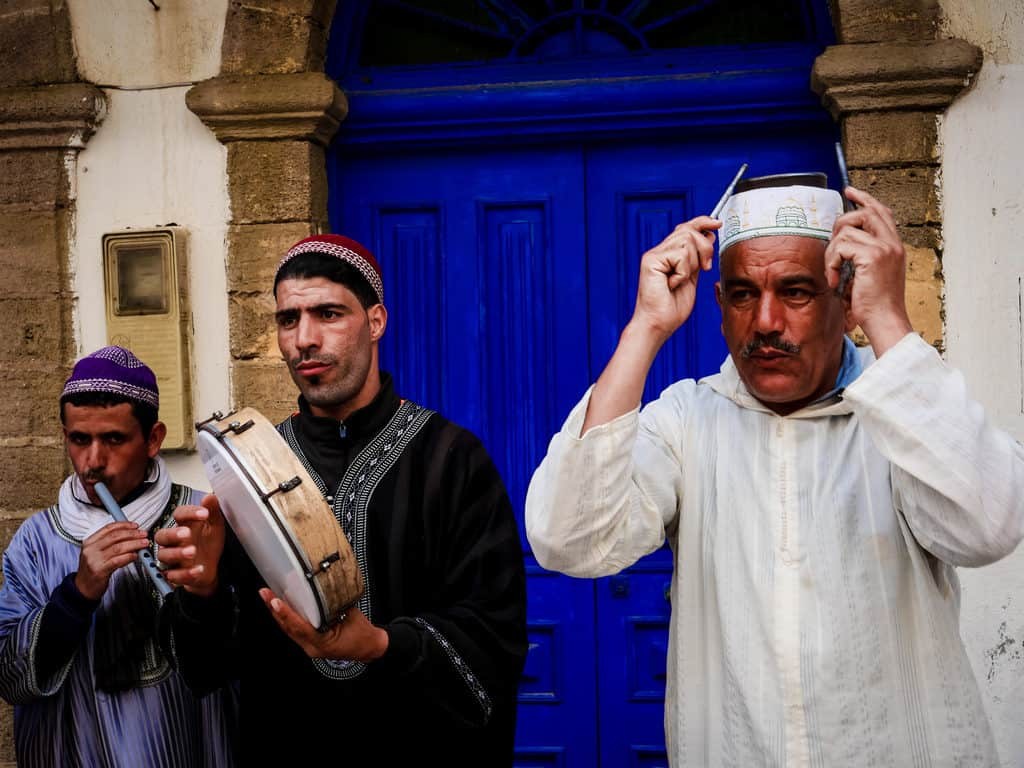 Street musicians in Essaouira - Journal of Nomads