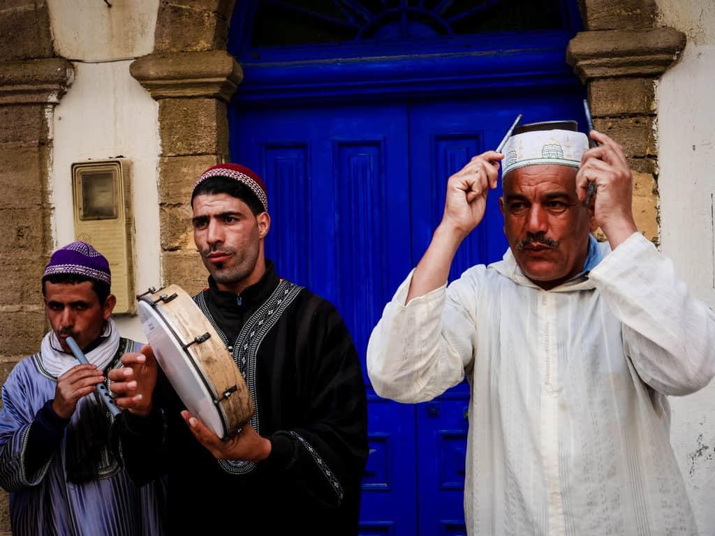 Street musicians in Essaouira - Journal of Nomads