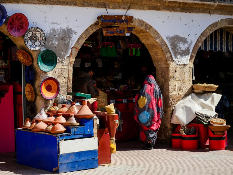Morocco Street Photography - local market Essaouira - Journal of Nomads