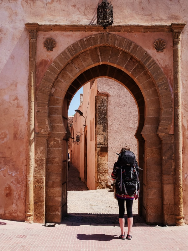 Walking in streets of Rabat - Journal of Nomads
