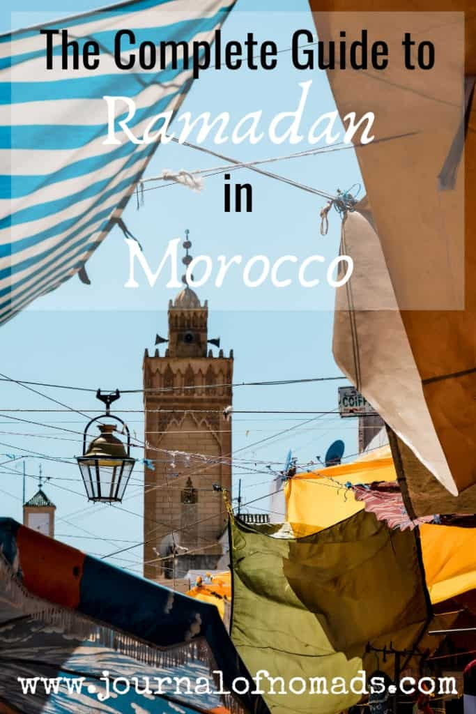 how is it to travel to Morocco during Ramadan - journal of nomads