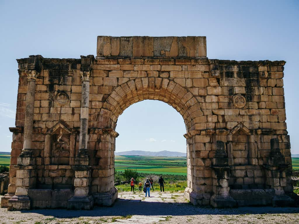 ruins volubilis meknes morocco - journal of nomads
