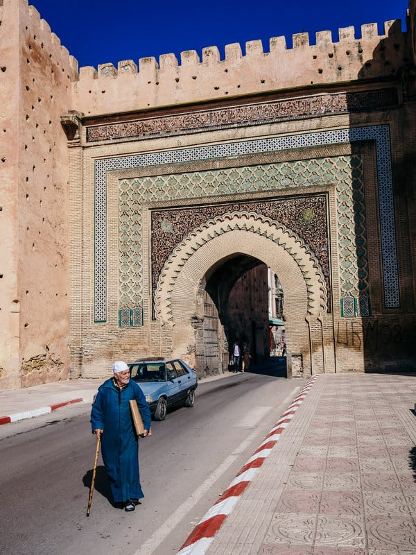 bab el khemis meknes morocco - journal of nomads