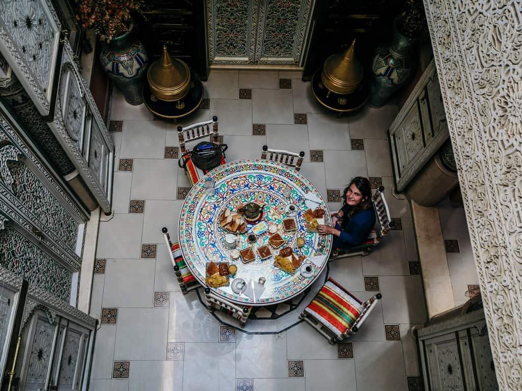 breakfast raid meknes morocco - journal of nomads
