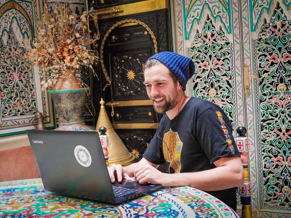 riad internet connection meknes morocco - journal of nomads