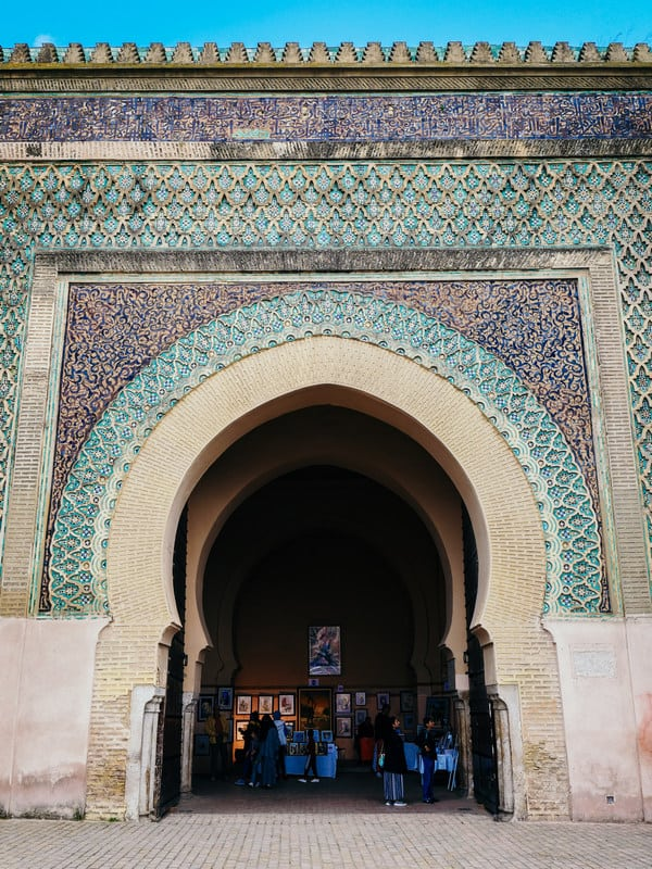 Bab Mansour Meknes Morocco - journal of nomads