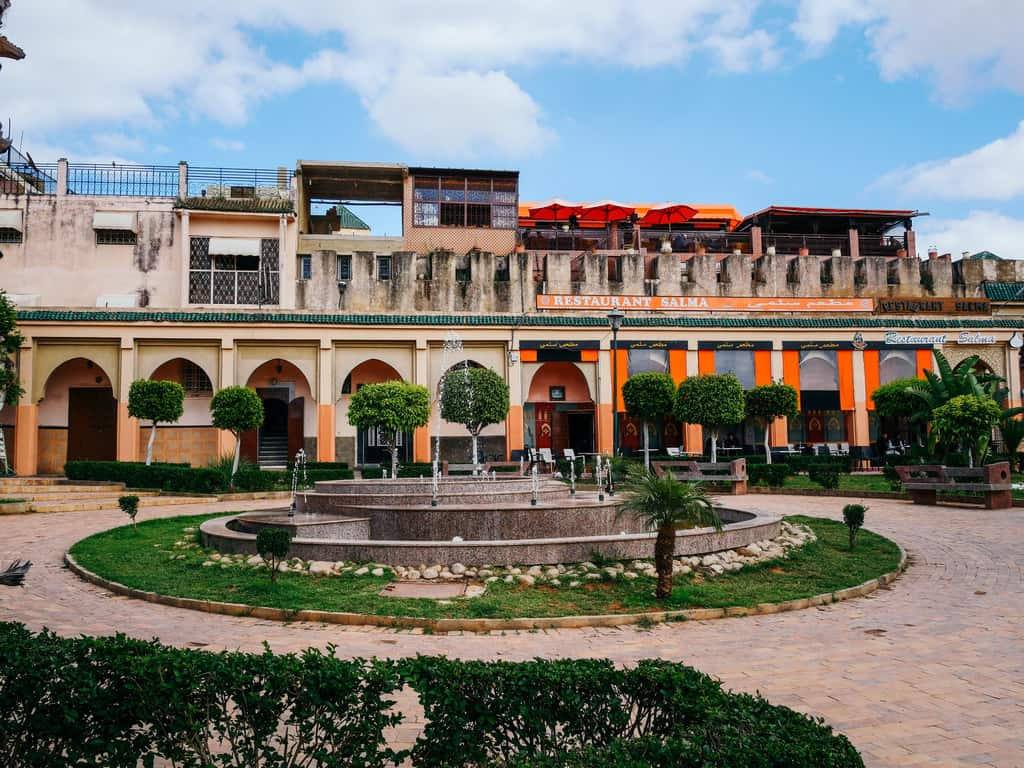 parks and fountains Meknes Morocco - journal of nomads