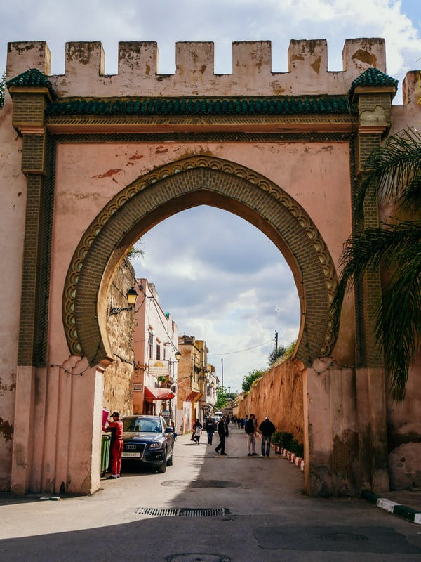 beautiful gates old medina meknes morocco - journal of nomads