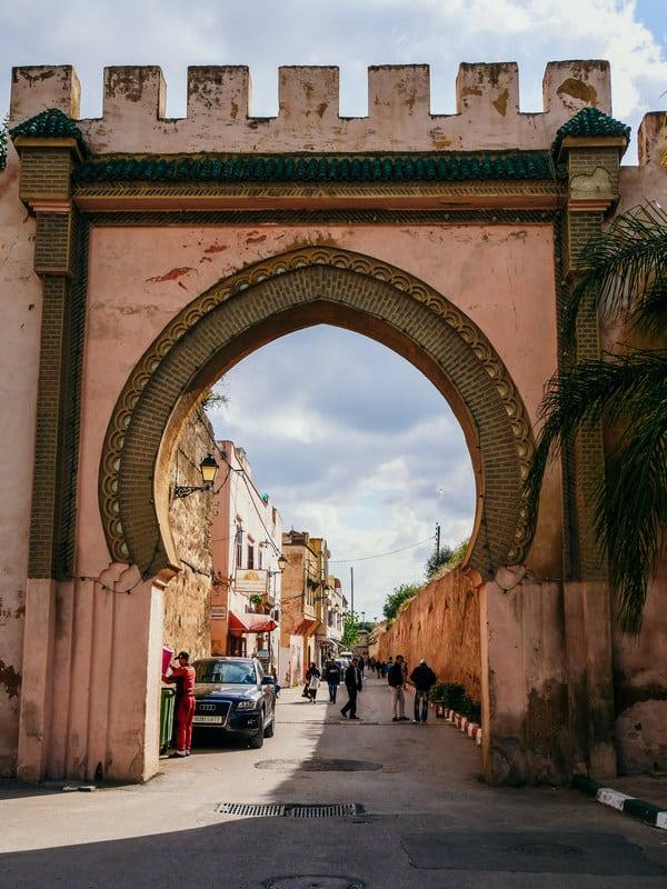 beautiful gates old medina meknes morocco - journal of nomads