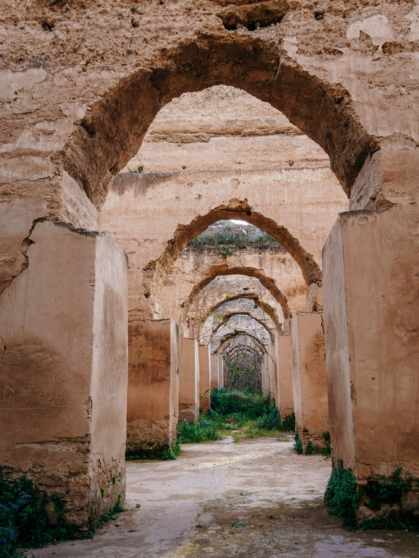 royal stables Meknes Morocco - journal of nomads