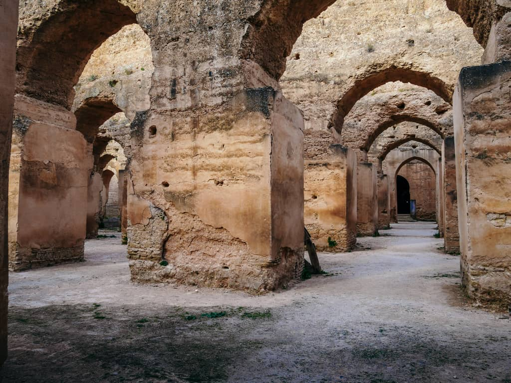 royal stables meknes morocco - journal of nomads