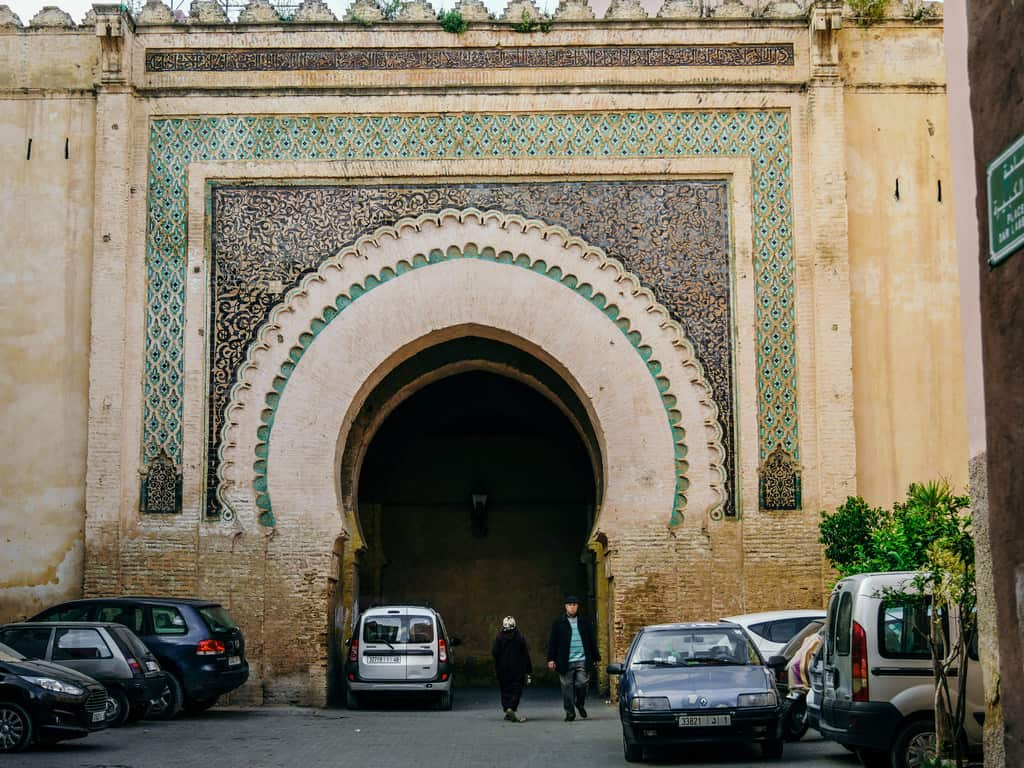historical gate - Meknes Morocco - journal of nomads