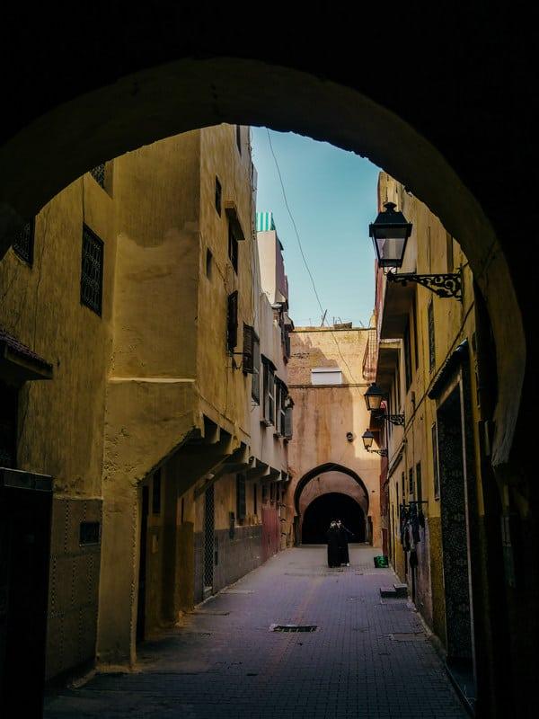 old medina Meknes Morocco - journal of nomads