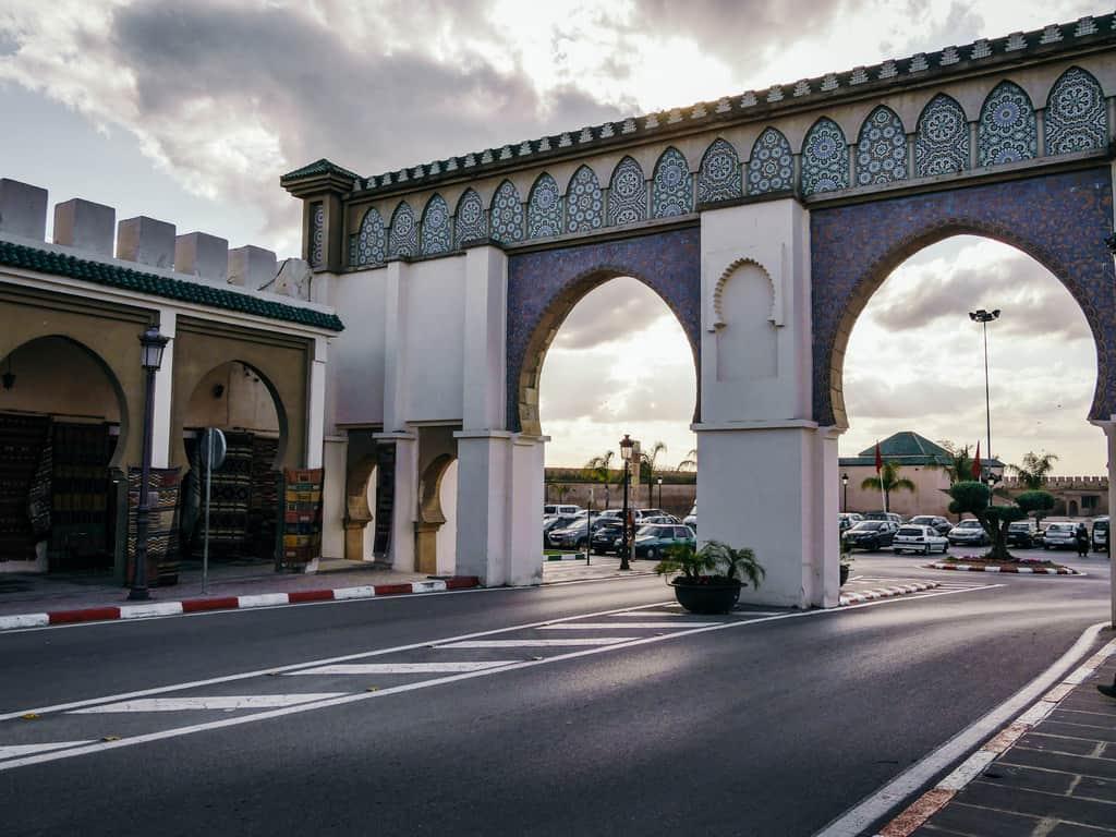 gates meknes morocco - journal of nomads