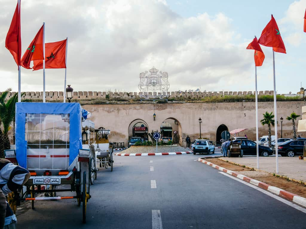 royal palace Meknes Morocco - journal of nomads