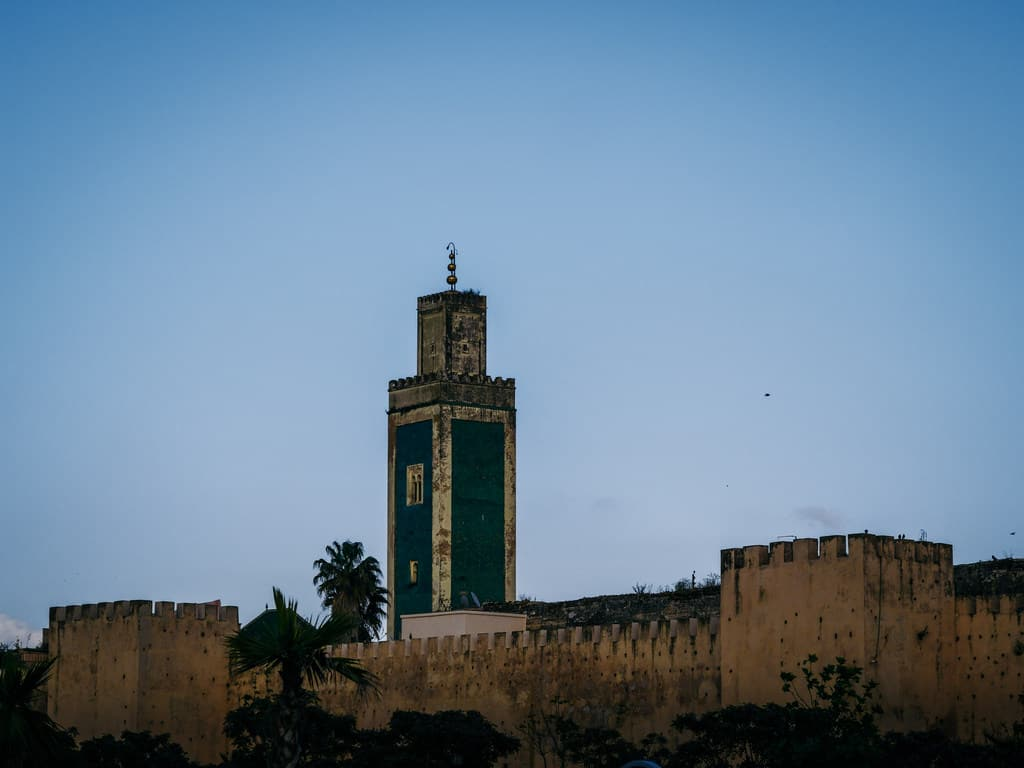 mosque Meknes Morocco - journal of nomads