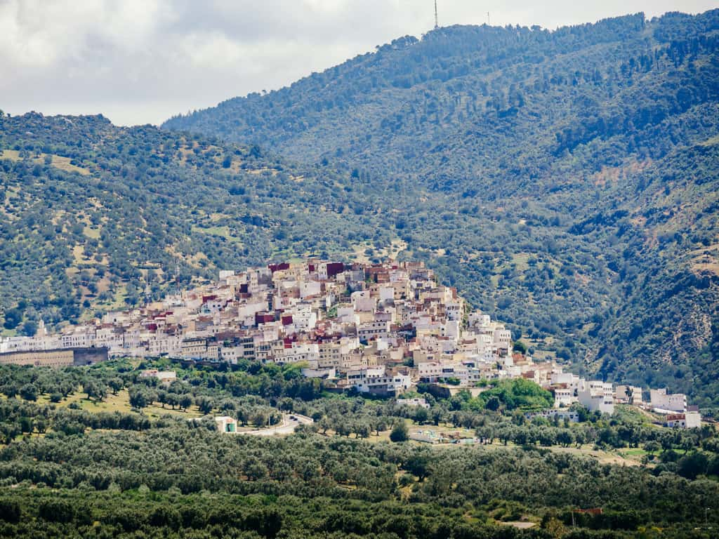 moulay idriss meknes Morocco - journal of nomads