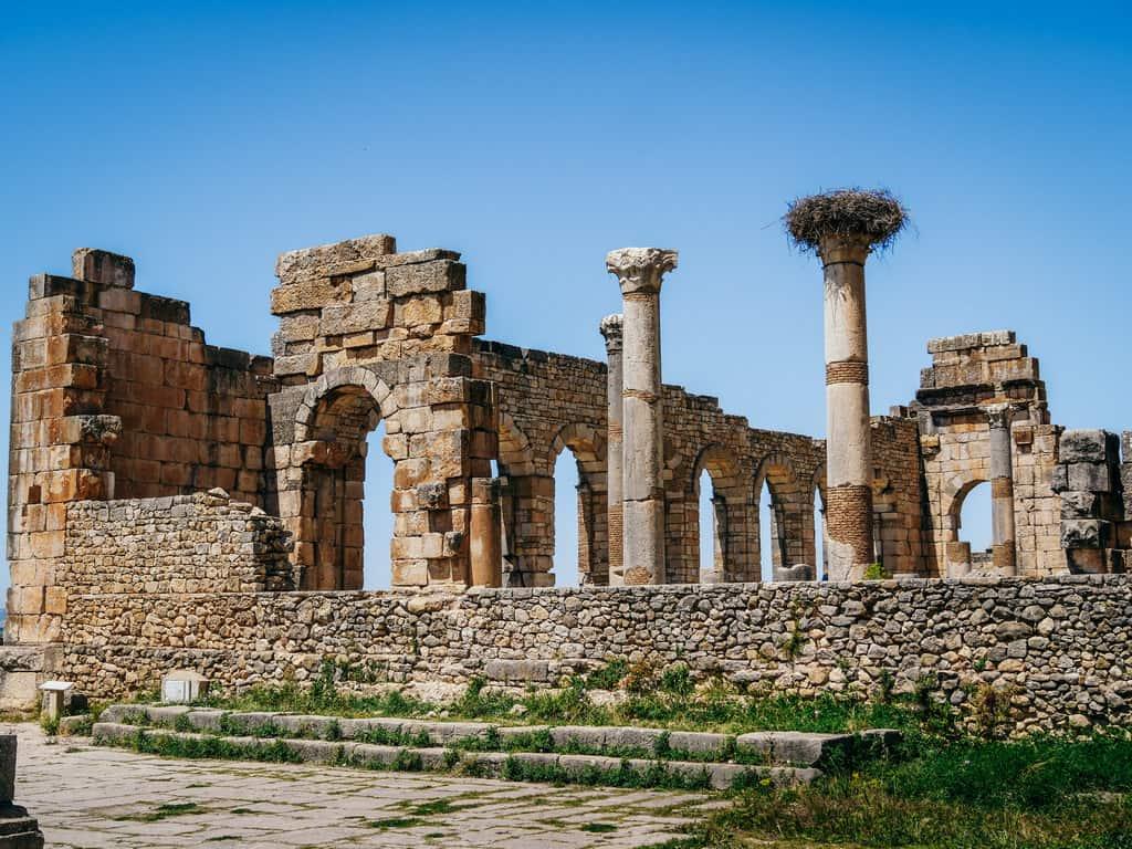 Ruins Volubilis Meknes Morocco - Journal of nomads