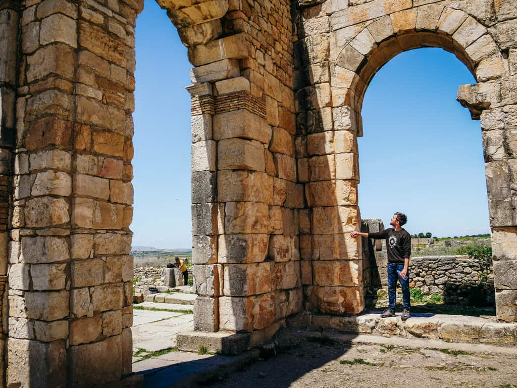 Volubilis Meknes Morocco - journal of nomads
