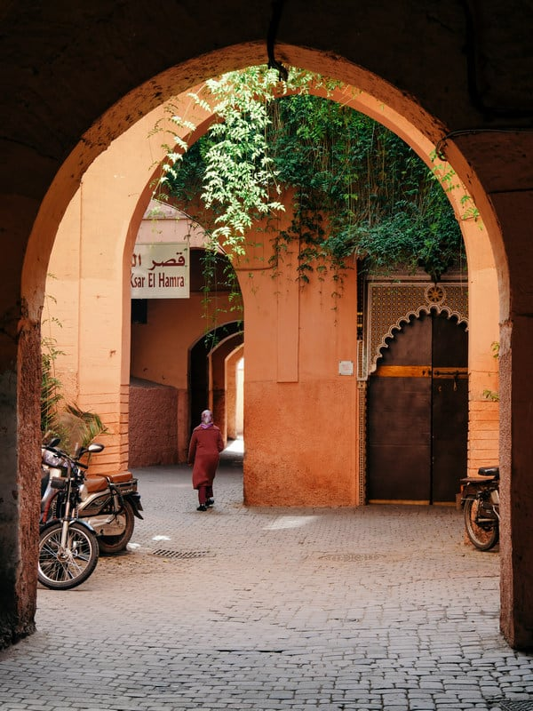 gate small streets Marrakesh Morocco - journal of nomads