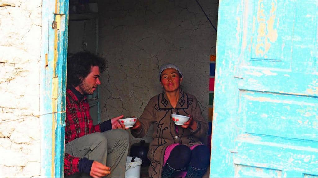 Trekking near Osh Kyrgyzstan - yurt camp - drinking Kymyz - Journal of nomads