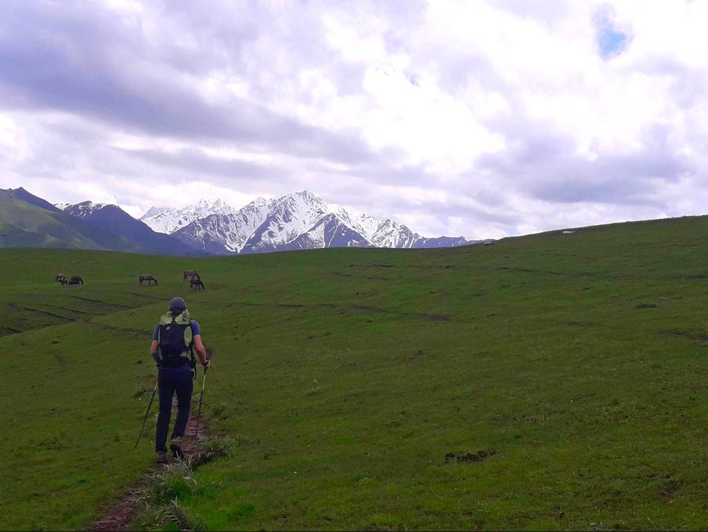 Trekking in Kyrgyzstan - mountains of central asia - hiking near Osh - Journal of nomads