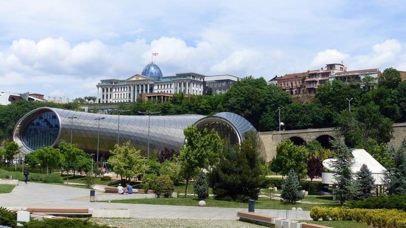 Tbilisi Georgia - travel on a budget - journal of nomads