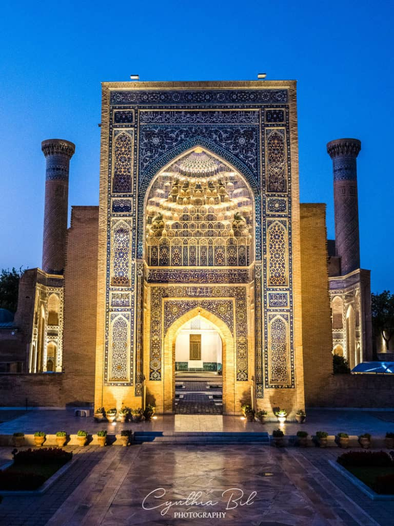 Gur-e-amir Samarkand Uzbekistan