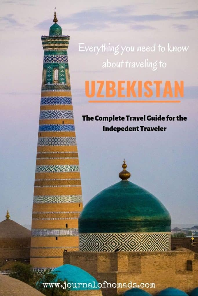 Uzbekistan Travel Guide - Everything you need to know about backpacking in Uzbekistan - Journal of Nomads