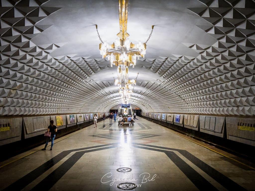 Beruniy Metro Station Tashkent Metro Uzbekistan - Journal of Nomads