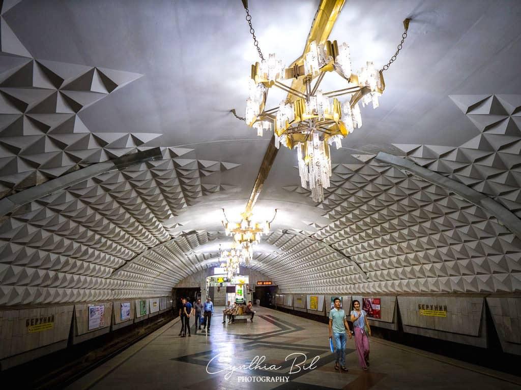 Tashkent Metro Beruniy Metro Station - Journal of Nomads