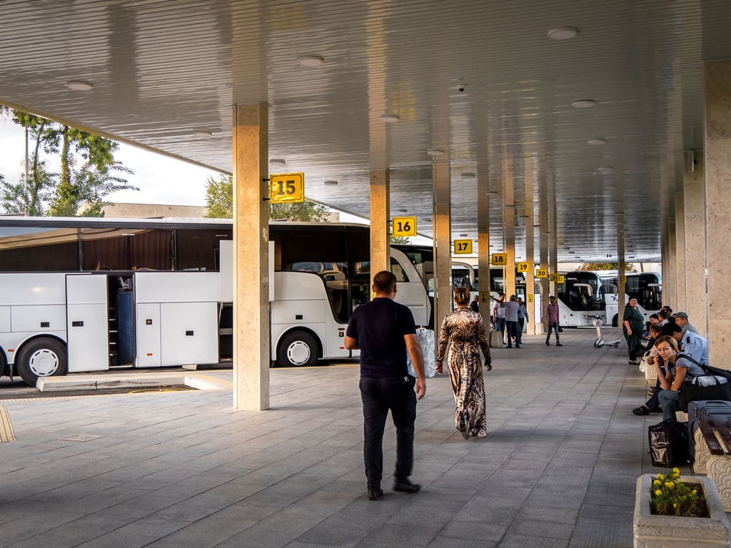 bus station Tashkent - Journal of Nomads