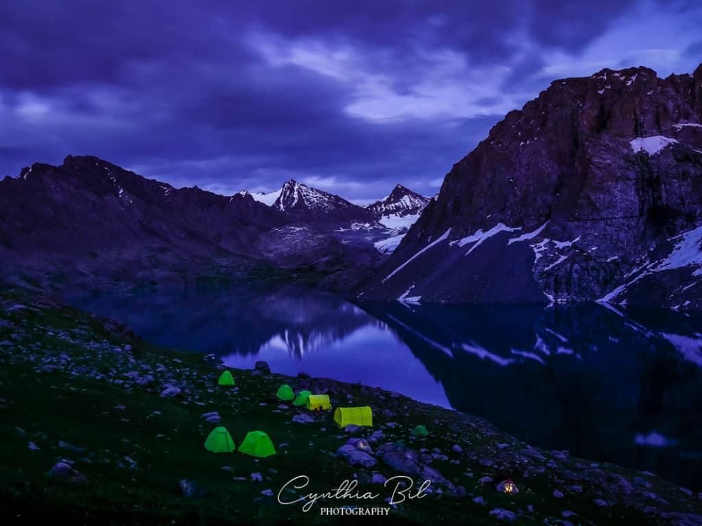Kyrgyzstan Adventure Tour - Camping at Lake Ala Kul