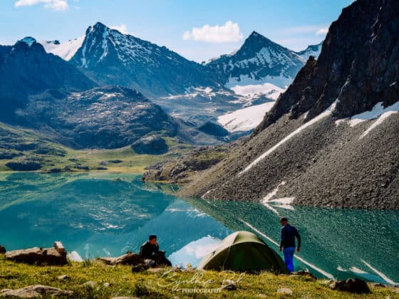 Kyrgyzstan Adventure Tour - trekking to lake Ala Kul