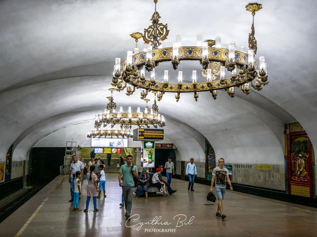 Chilonzor metro station metro Tashkent Uzbekistan - Journal of Nomads