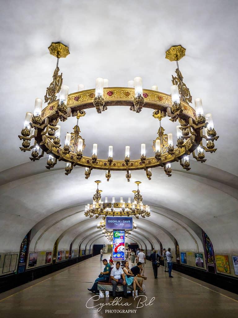 Tashkent metro Chilonzor metro station Uzbekistan - Journal of Nomads