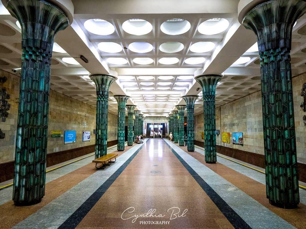 G'afur Gulom Station Tashkent Subway Uzbekistan - Journal of Nomads