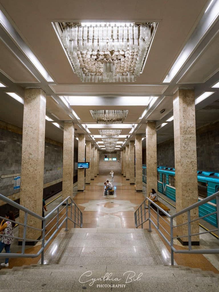 Interchange stations metro tashkent uzbekistan - journal of nomads