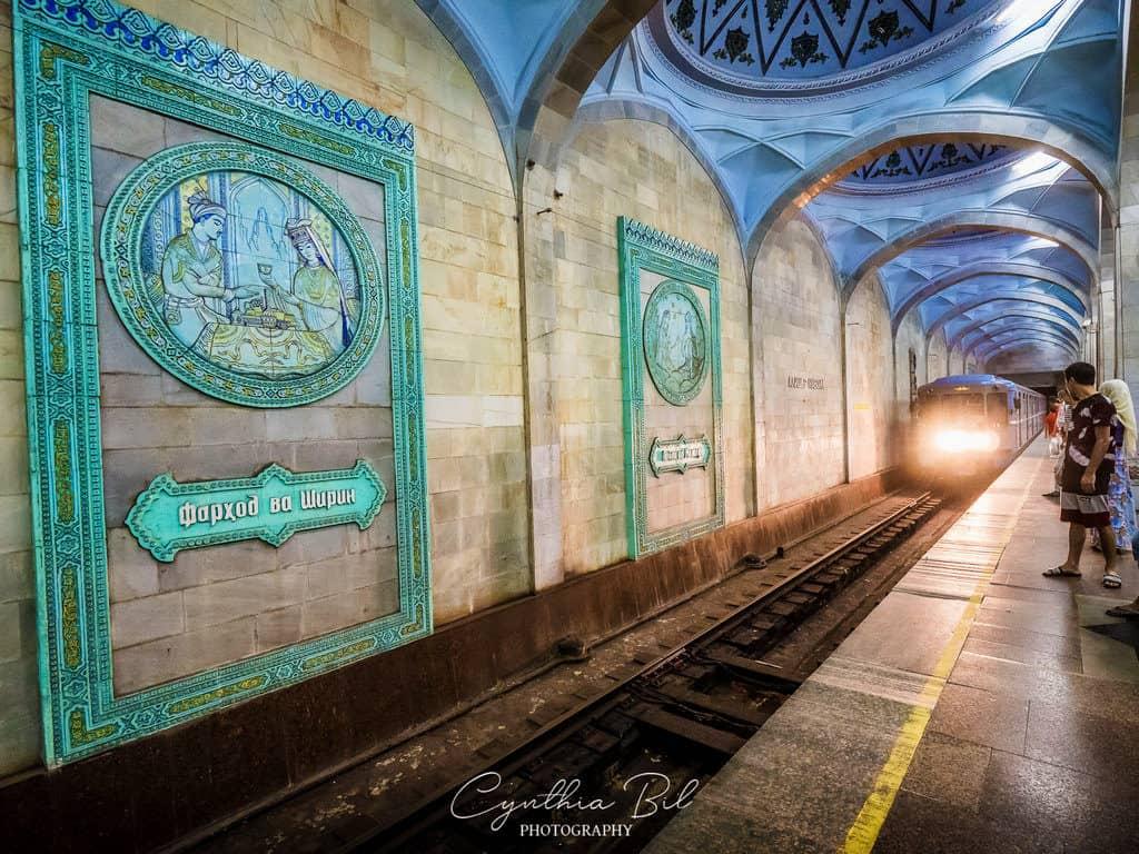 Tashkent Metro Stations reflecting the past of Uzbekistan - Journal of Nomads