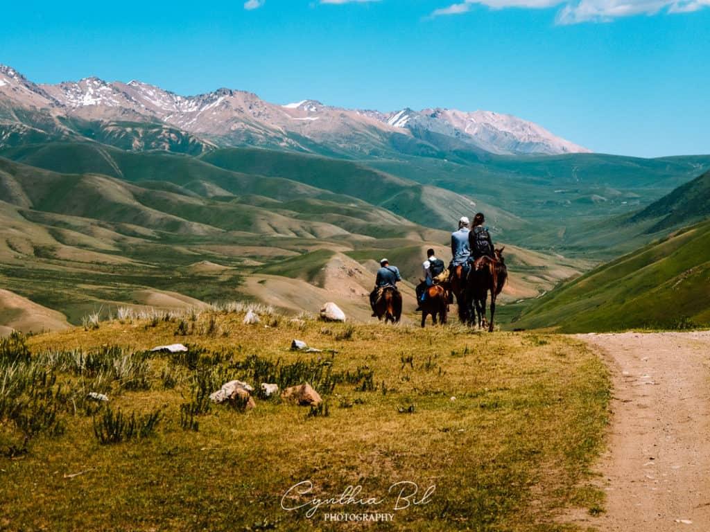 Kyrgyzstan Adventure Tour - Horseback riding to Son Kol