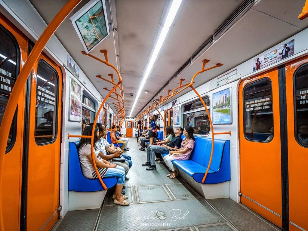 Riding Tashkent Subway in Uzbekistan - Journal of Nomads