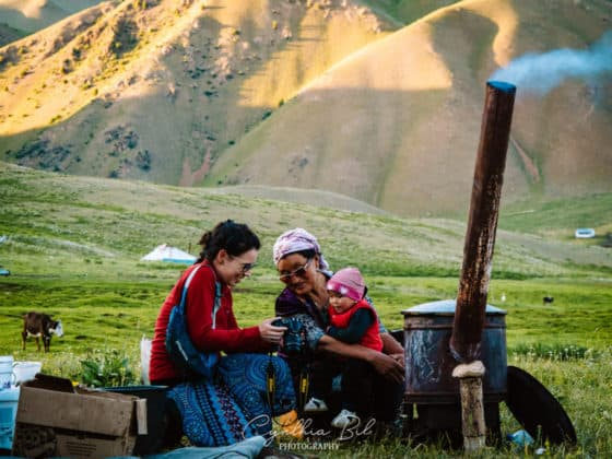 Kyrgyzstan Adventure Tour - spending time with the local Kyrgyz nomads