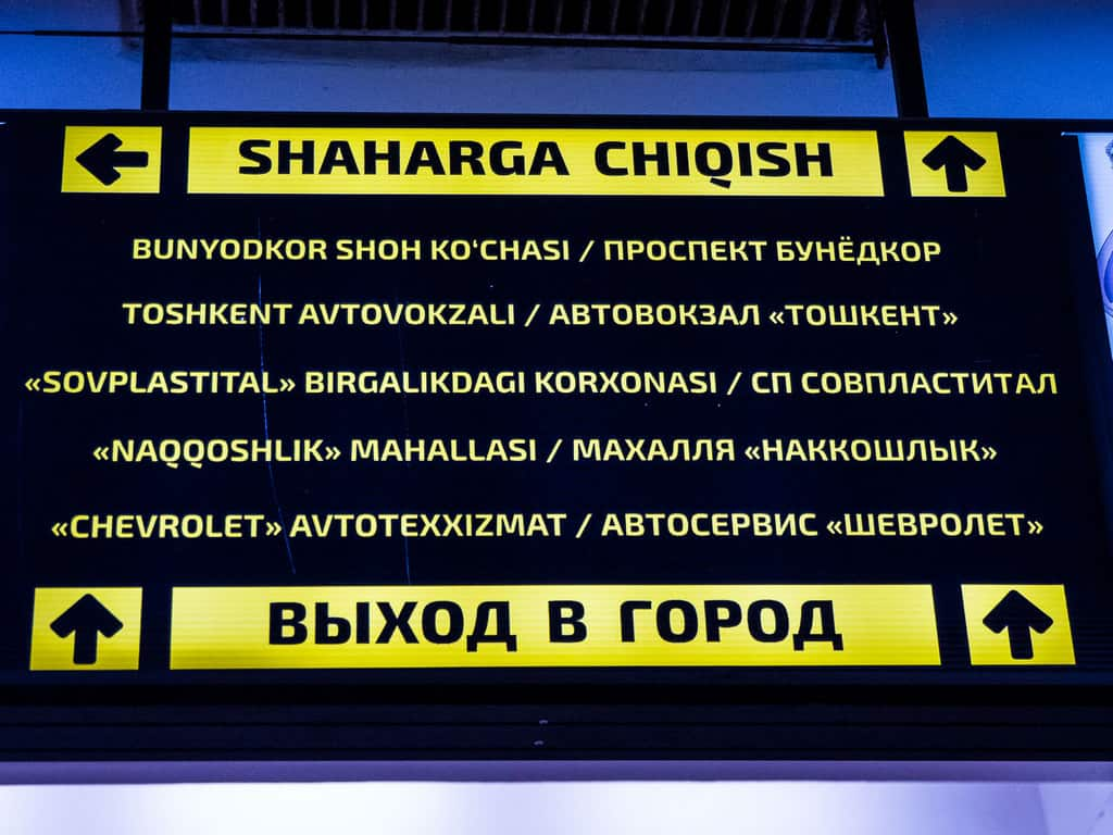 Olmazor metro station Tashkent - Journal of Nomads