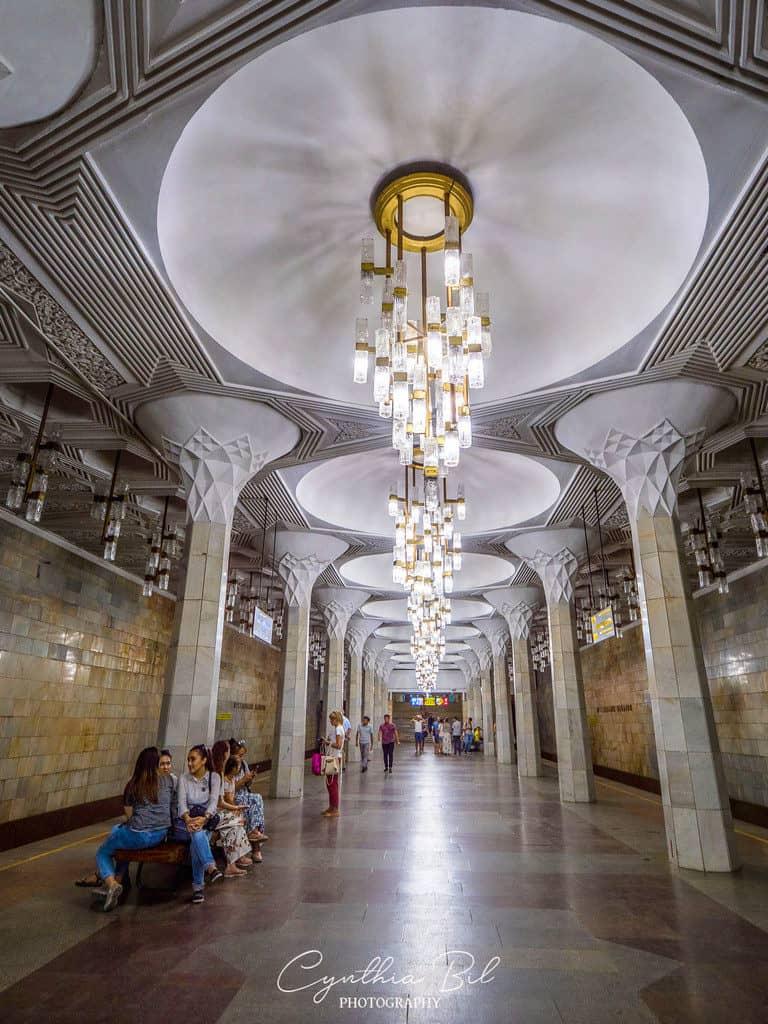 Mustakillik Maydoni Tashkent metro station - Journal of Nomads