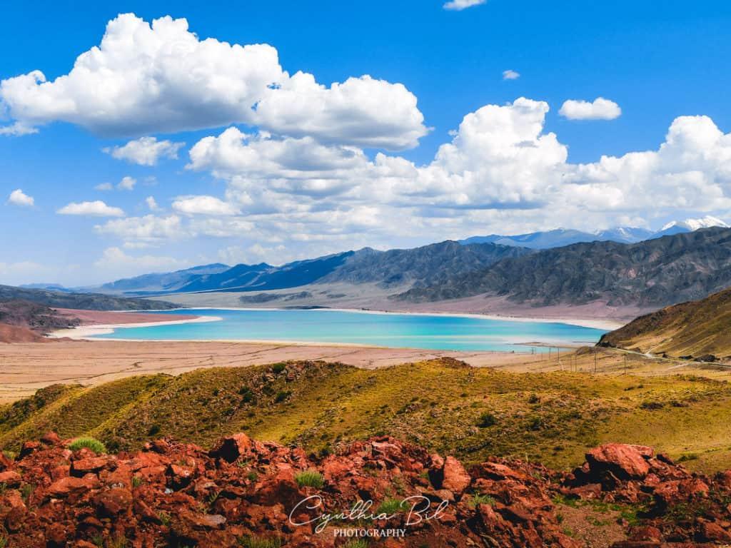 Orto Tokoi Water Reservoir Kyrgystan