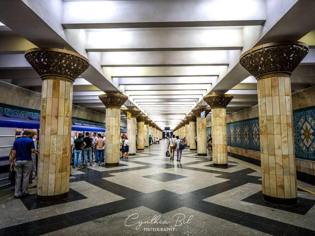 Paxtakor Metro Station Tashkent Uzbekistan - best metro stations in Tashkent - Journal of Nomads