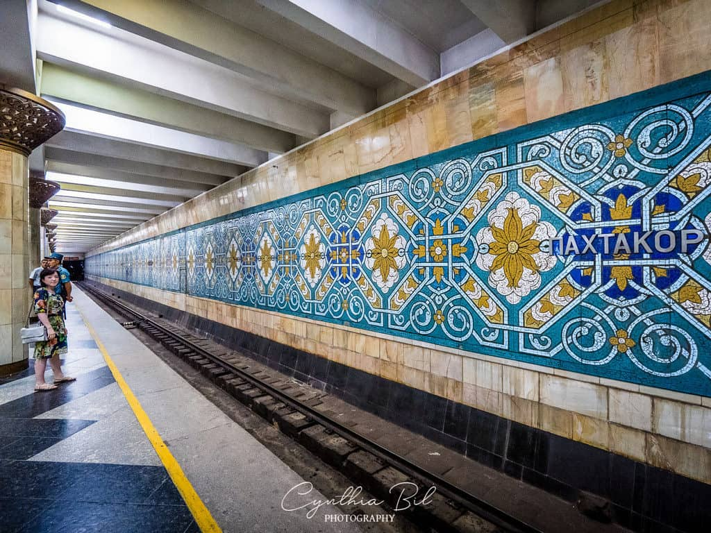 Paxtakor Metro Tashkent Uzbekistan - Beautiful metro stations Tashkent - Journal of Nomads