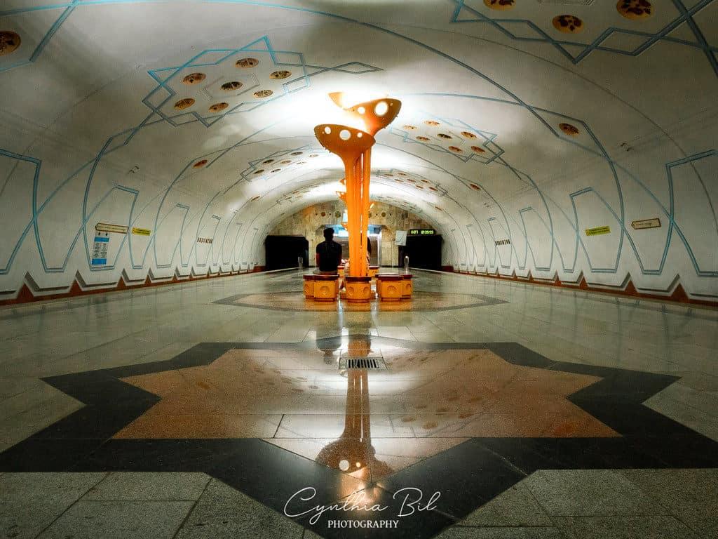 Bodomzor metro station Tashkent Uzbekistan - Journal of Nomads