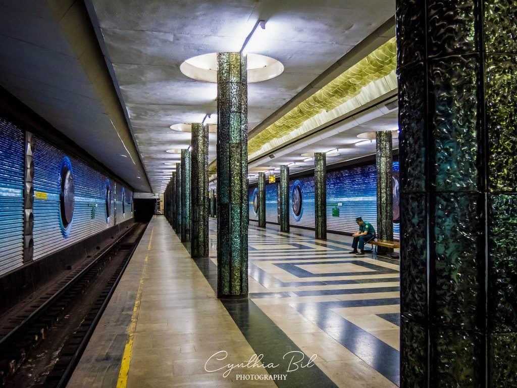 Tashkent metro station Kosmonavtlar Metro Uzbekistan - Journal of Nomads
