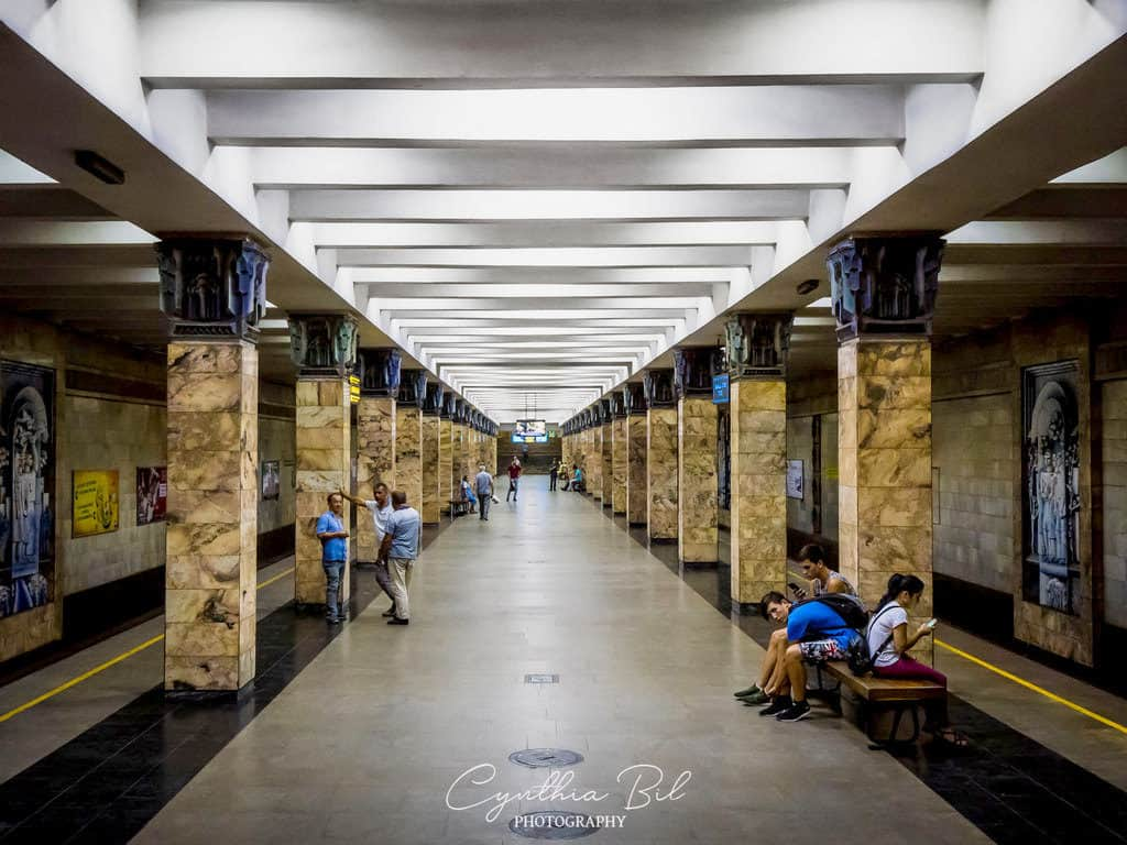 Tashkent Metro Station Uzbekistan - Journal of Nomads